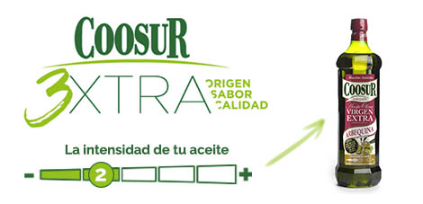 Intensidad Coosur - Arbequina
