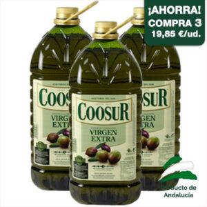 aceite de oliva virgen extra 5 litros garrafa coosur
