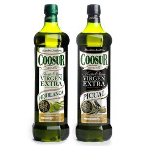 pack de aceites de oliva virgen extra de andalucia