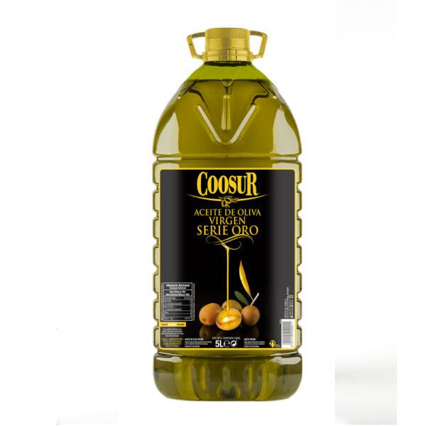 Aceite de oliva virgen Serie Oro 5 litros