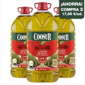 pack aceite de oliva suave 04 5l