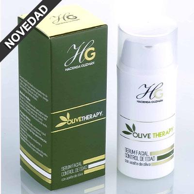 serum facial con aceite de oliva