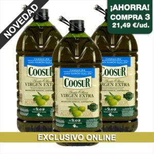 aceite de oliva virgen extra seleccion cooperativa coosur fundacion