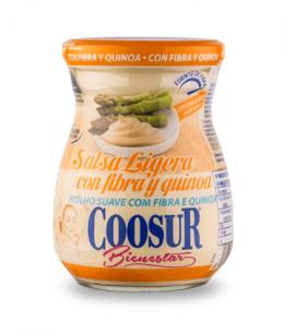 Salsa ligera con fibra y quinoa