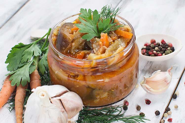 Berenjenas Y Zanahorias Al Escabeche Con Cebollas Coosur